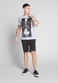 Only & Sons - ONSCORN SLIM TEE - T-shirt print - light grey melange - 1