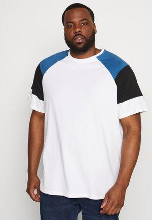 ONSRANDY RAGLAN TEE - Print T-shirt - bright white