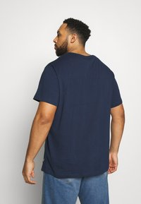 Only & Sons - ONSCALM TEE - Printtipaita - dress blues - 2