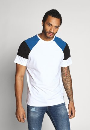 ONSRANDY RAGLAN TEE - T-shirt imprimé - bright white