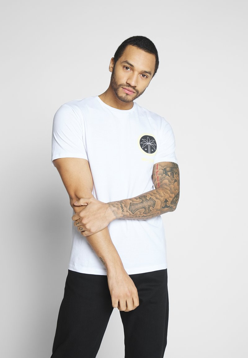 Only & Sons - ONSROVER TEE - Print T-shirt - bright white