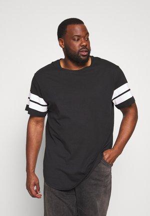 ONSMATTY LONGY TEE - T-shirt print - black