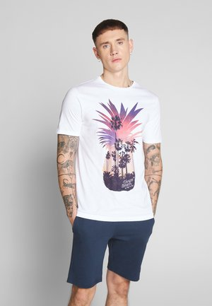 ONSCANE TEE - T-shirt print - white