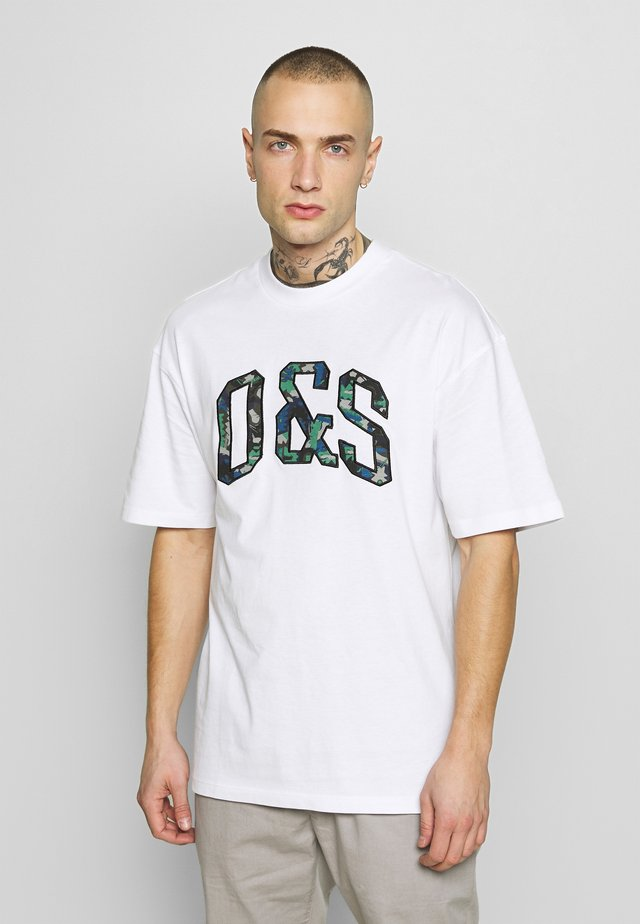 ONSKEISER TEE - T-Shirt print - bright white