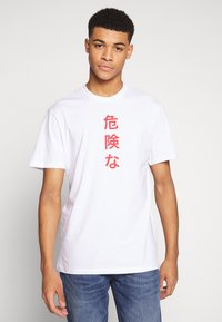 Only & Sons - ONSLUNG REG TEE - Print T-shirt - white - 2