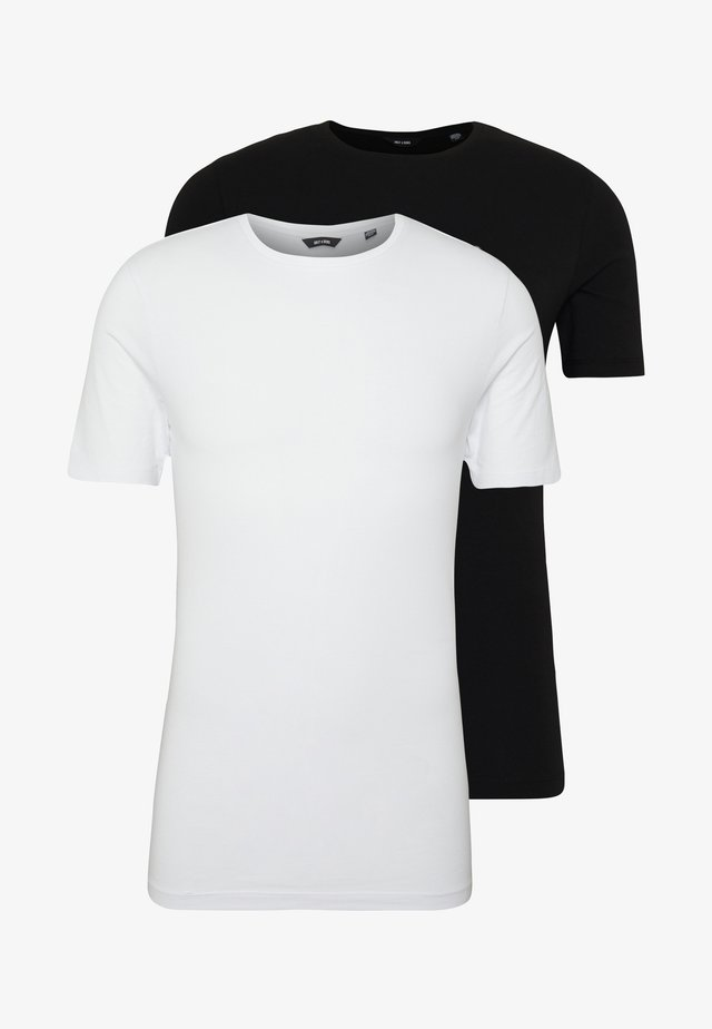 ONSMUSCLE FIT TEE 2 PACK - T-shirt basic - black/white