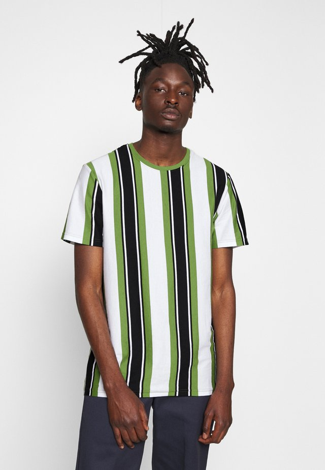 ONSRIS STRIPE TEE - T-shirt print - cactus