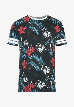 ONSKAFKA SLIM TEE - T-shirt print - dark navy