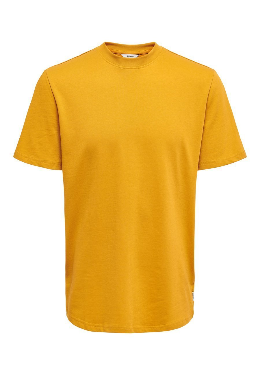 Only & Sons T-shirt basic - golden yellow