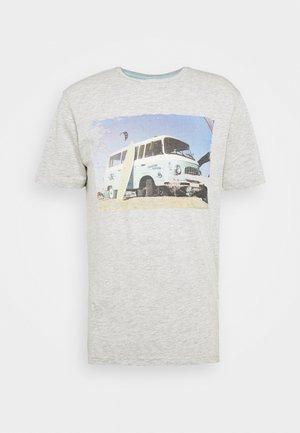 ONSILO TEE - Print T-shirt - light grey