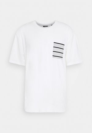 ONSMELTIN LIFE POCKET TEE - T-shirt print - cloud dancer