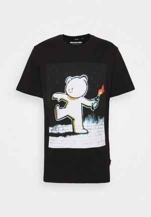 ONSBANKSY  - T-shirt con stampa - black