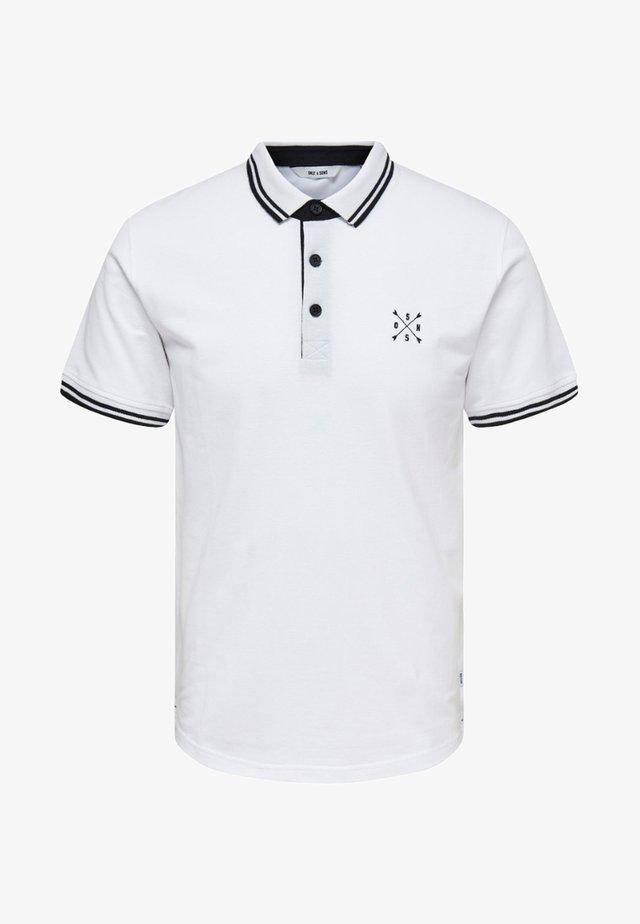 ONSSTAN  - Poloshirt - white