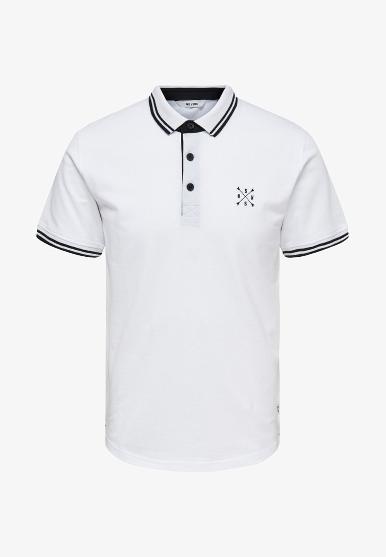 Only & Sons - NOOS - Polo - white