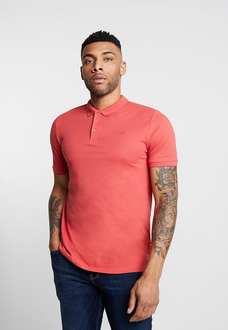 Only & Sons - ONSSCOTT - Poloshirt - cranberry