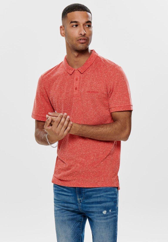 Only & Sons - Poloshirt - aura orange