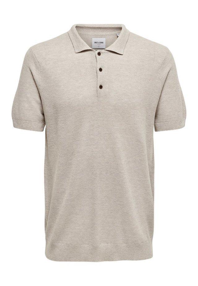 Poloshirt - chinchilla