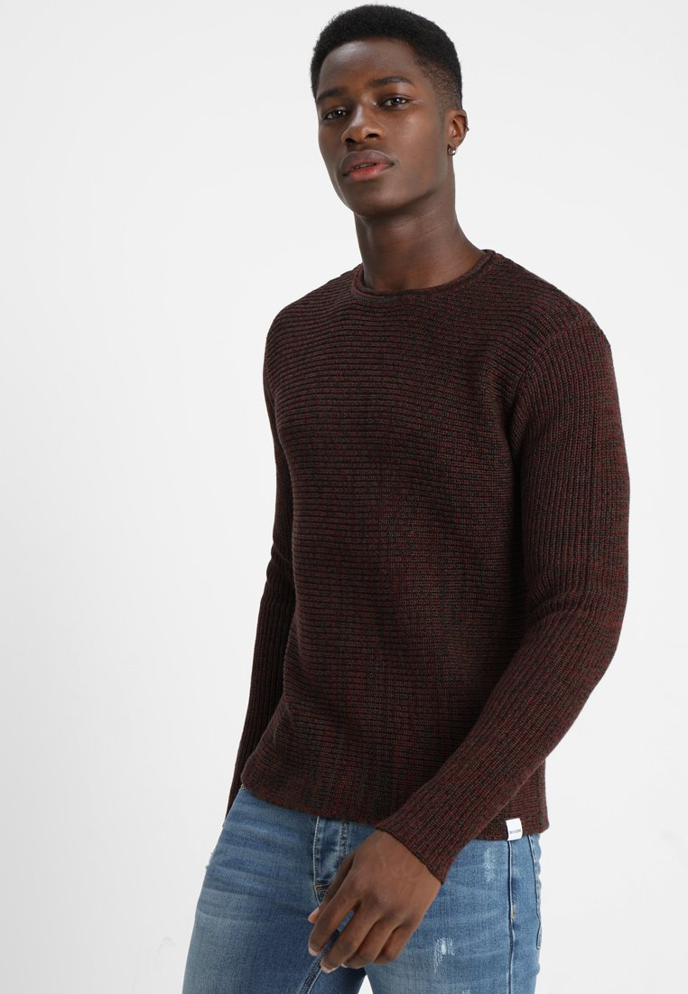 Only & Sons - ONSSATO  - Strickpullover - cabernet