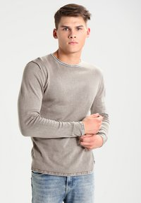 Only & Sons - ONSGARSON WASH CREW NECK - Trui - griffin - 0
