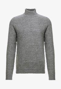Only & Sons - ONS PATRICK HIGH NECK - Jersey de punto - medium grey melange - 3