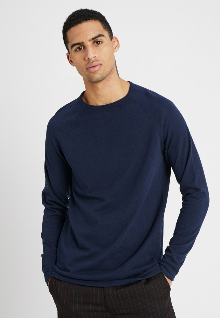 Only & Sons - ONSANDREAS RAGLAN CREW NECK - Maglione - dress blues