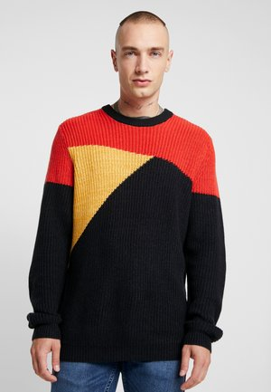 ONSVP KASPER COLOURBLOCK - Pullover - aurora red