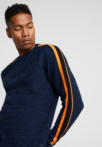 Only & Sons - ONSVP SIMON SLEEVE STRIPE - Jumper - blue quartz - 4