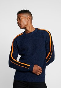 Only & Sons - ONSVP SIMON SLEEVE STRIPE - Jumper - blue quartz - 0