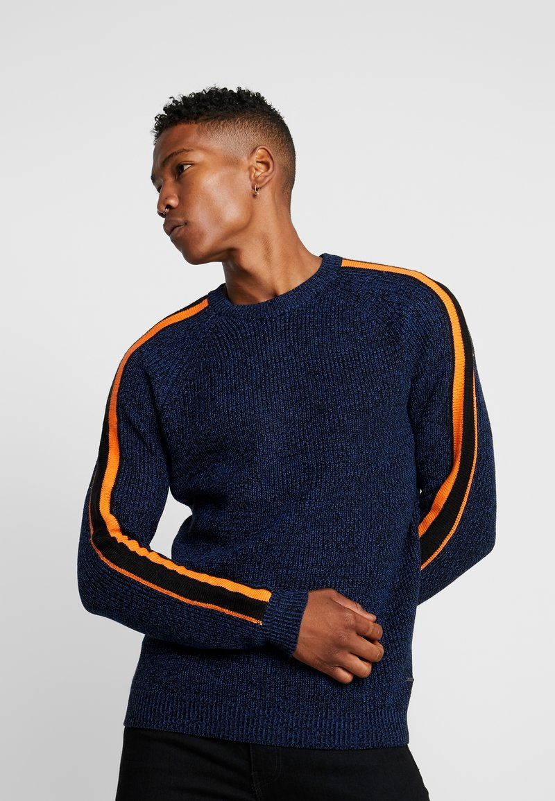 Only & Sons - ONSVP SIMON SLEEVE STRIPE - Jumper - blue quartz
