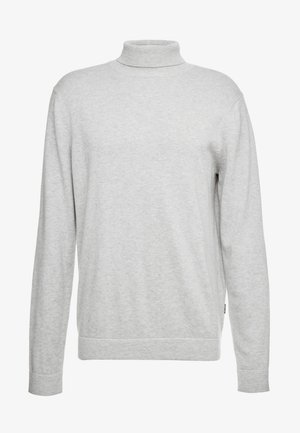 ONSALEX  ROLL NECK - Stickad tröja - light grey melang