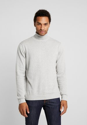 ONSALEX  ROLL NECK - Jumper - light grey melang