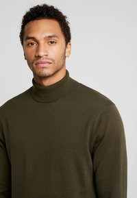 Only & Sons - ONSALEX  ROLL NECK - Pullover - forest night - 4