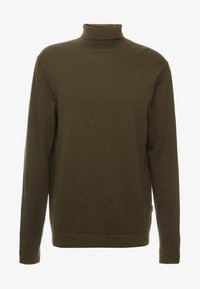 Only & Sons - ONSALEX  ROLL NECK - Pullover - forest night - 3