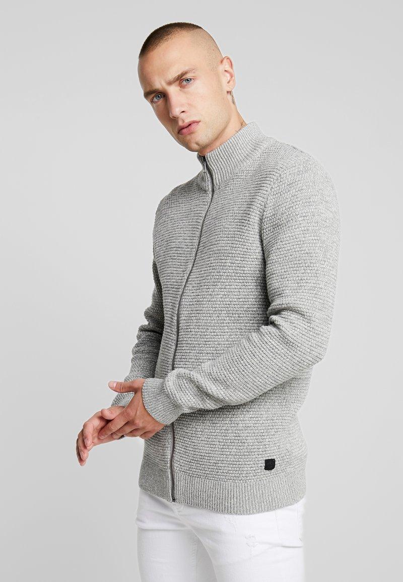 Only & Sons - ONSDANIEL ZIP - Cardigan - light grey melange