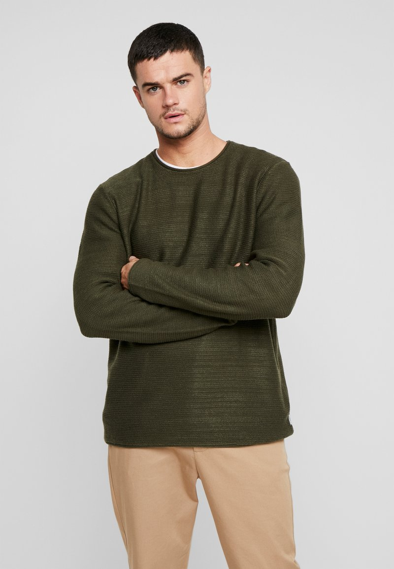 Only & Sons - ONSCAM  - Neule - forest night