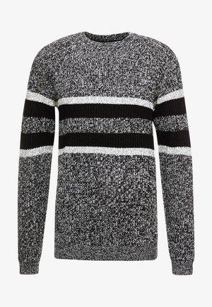 ONSCESCO STRUC STRIPE - Sweter - medium grey melange