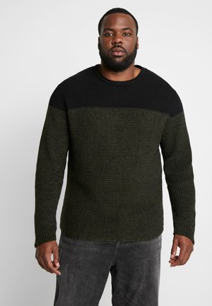 ONSSATO COLORBLOCK CREW NECK  - Neule - rosin