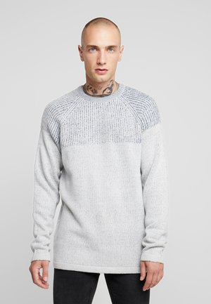 ONSPEER PLATED CREW NECK - Pullover - glacier gray