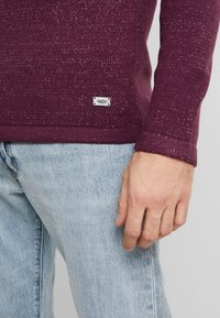 Only & Sons - ONSPEER PLATED CREW NECK - Trui - zinfandel - 3