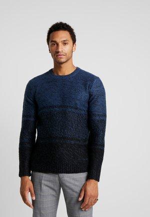 ONSCALLEN GRADING CREW NECK - Sweter - insignia blue