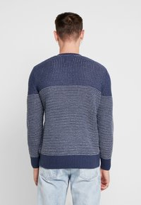 Only & Sons - ONSHELMIG BLOCKED - Sweter -  blues - 2