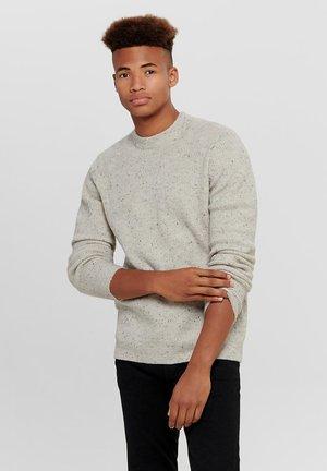 ONSPATRICK NAPS CREW NECK - Pullover - light grey