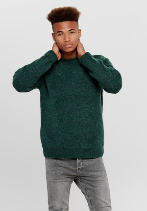 ONSPATRICK NAPS CREW NECK - Pullover - green