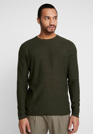 ONSGARSON MELANGE CREW NECK - Jumper - forest night