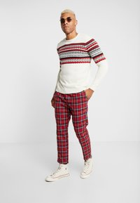 Only & Sons - ONSRAMMER CHEST - Pullover - oatmeal - 1