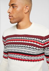 Only & Sons - ONSRAMMER CHEST - Pullover - oatmeal - 4