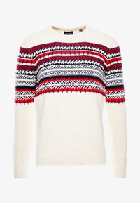 Only & Sons - ONSRAMMER CHEST - Pullover - oatmeal - 3