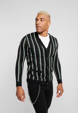ONSHENNY - Cardigan - black/green