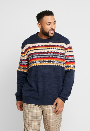 ONSRAMMER CHEST - Strickpullover - dark navy
