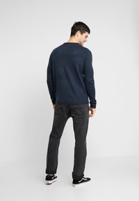 Only & Sons - ONSXMAS FUNNY BADGE - Strickpullover - blue nights - 2